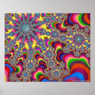 ColorStarWormsPT, david tammenga.19 Poster