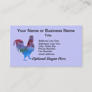 Roosters Business Cards | Zazzle AU