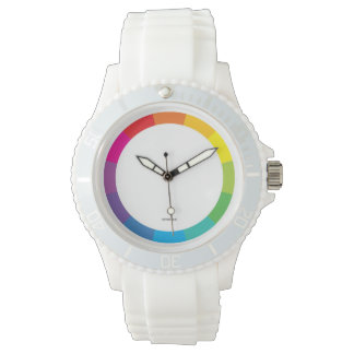 ColorWheel sporty wristwatch