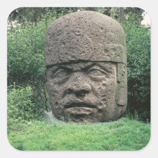 Colossal Head Square Sticker