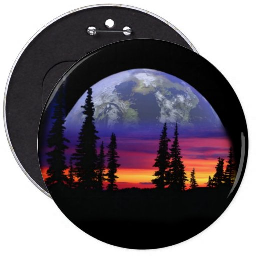 COLOSSAL Sunset, 6 inch Pins buttons