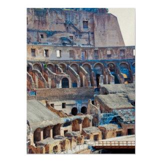 Colosseum 17 Cm X 22 Cm Invitation Card