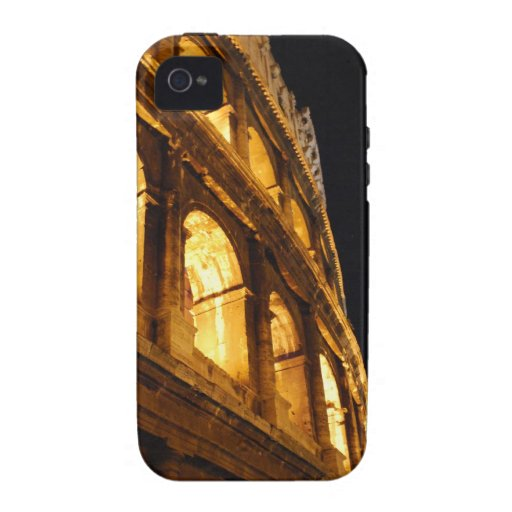 Colosseum at night iPhone 4 cases