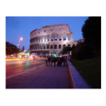Colosseum at Night Post Cards