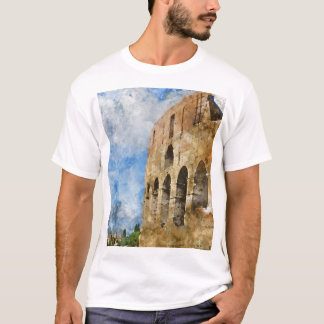 Colosseum in Ancient Rome T-Shirt