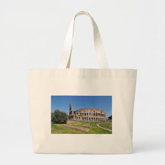 Colosseum in Rome, Italy Large Tote Bag