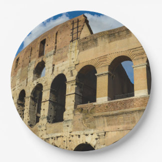 Colosseum in Rome, Italy Paper Plate