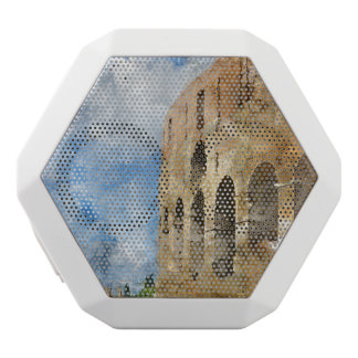 Colosseum in Rome, Italy White Bluetooth Speaker