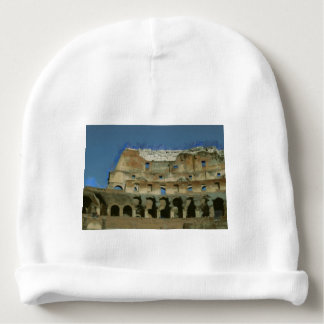 Colosseum painting, Rome Baby Beanie