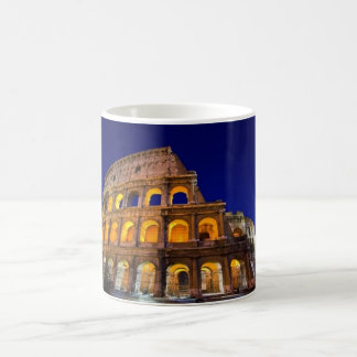 Colosseum Rome Basic White Mug