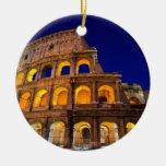 Colosseum Rome Christmas Ornament