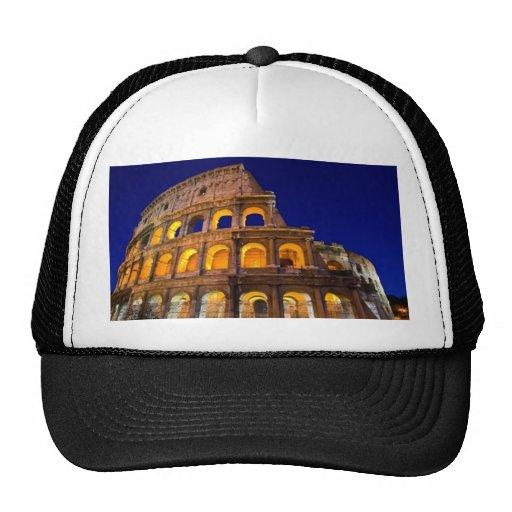 Colosseum Rome Mesh Hats