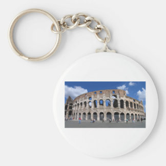 Colosseum, Rome, Italy Basic Round Button Key Ring