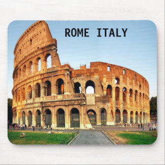 COLOSSEUM ROME ITALY MOUSE PAD