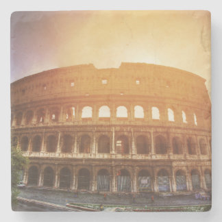 Colosseum, Rome, Italy Stone Coaster