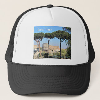 Colosseum, Rome, Italy Trucker Hat