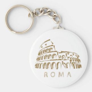 Colosseum Rome Keychain