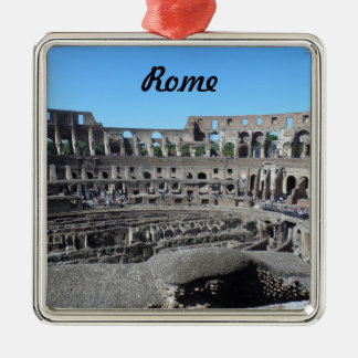 Colosseum- Rome Metal Ornament