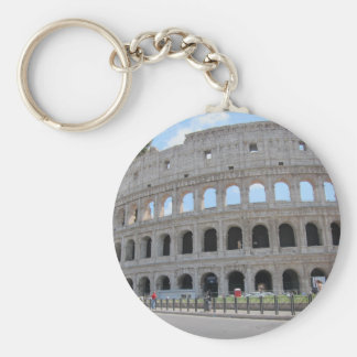 Colosseum Rome On! Basic Round Button Key Ring