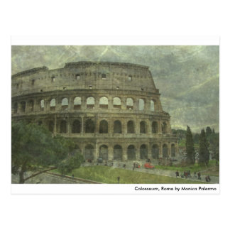 Colosseum, Rome Post Card