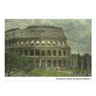 Colosseum, Rome Postcard