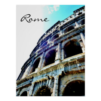 Colosseum, Rome, Poster