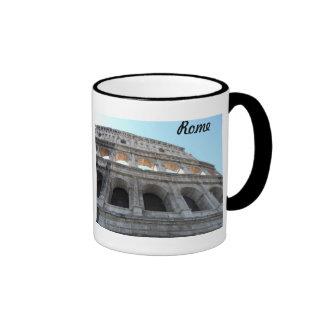 Colosseum- Rome Ringer Mug
