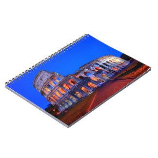 Colosseum Rome Spiral Notebook