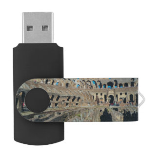 Colosseum, Rome Swivel USB 2.0 Flash Drive