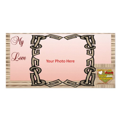 Colossians 3:15 photo greeting card