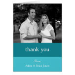 Colour Blocks Thank You Cards (Turquoise)