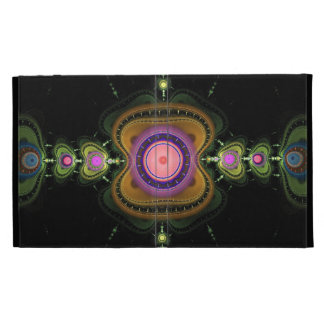 Colour chain, artistic abstract iPad cases