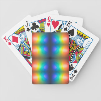Colour Chaos abstract. Bicycle Playing Cards