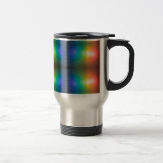 Colour Chaos abstract. Travel Mug