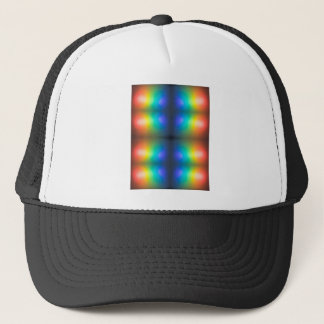 Colour Chaos abstract. Trucker Hat