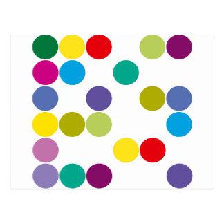 Colour Circles Products & Designs! Postcard