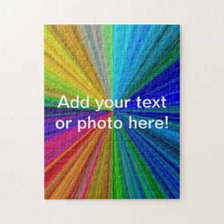Colour Circular Rainbow Array 1 Jigsaw Puzzle
