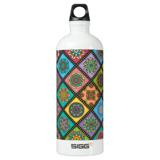 Colour Crazy Mandala Quilt Bee Water Bottle