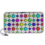 Colour dots doodle speaker