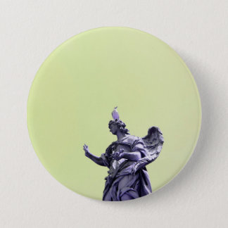Colour effect, filtered, modern simple photography 7.5 cm round badge