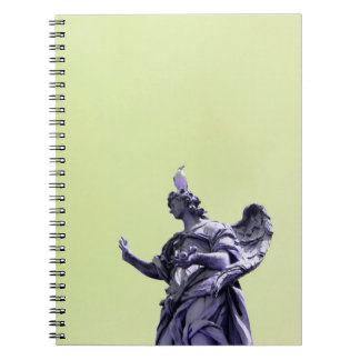 Colour effect, filtered, modern simple photography spiral notebook