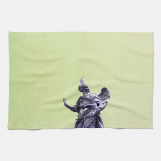 Colour effect, filtered, modern simple photography tea towel