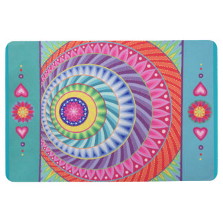 Colour Explosion Mandala Floor Rug