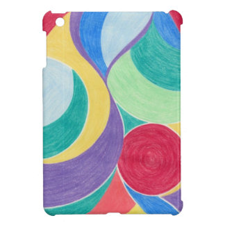 colour in abstract iPad mini cases