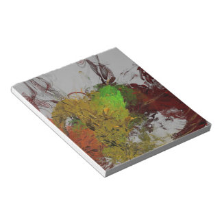 Colour Invasion Notepad