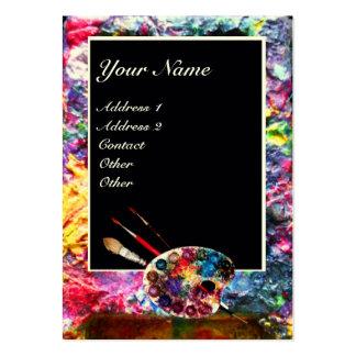 COLOUR PALETTE 2 Painter,Artist,Fine Art Materials Business Card Template