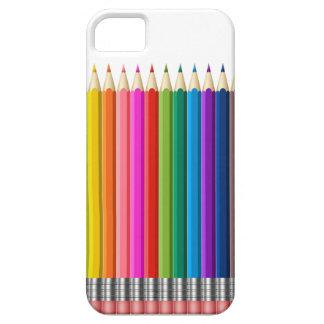 colour pencil iPhone 5 case