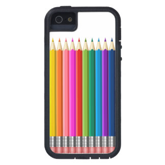 colour pencil iPhone 5 cover