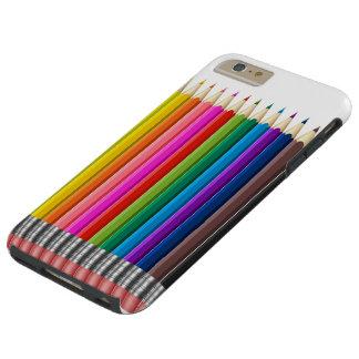colour pencil tough iPhone 6 plus case