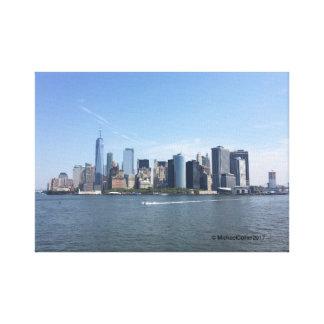 Colour print of Manhattan